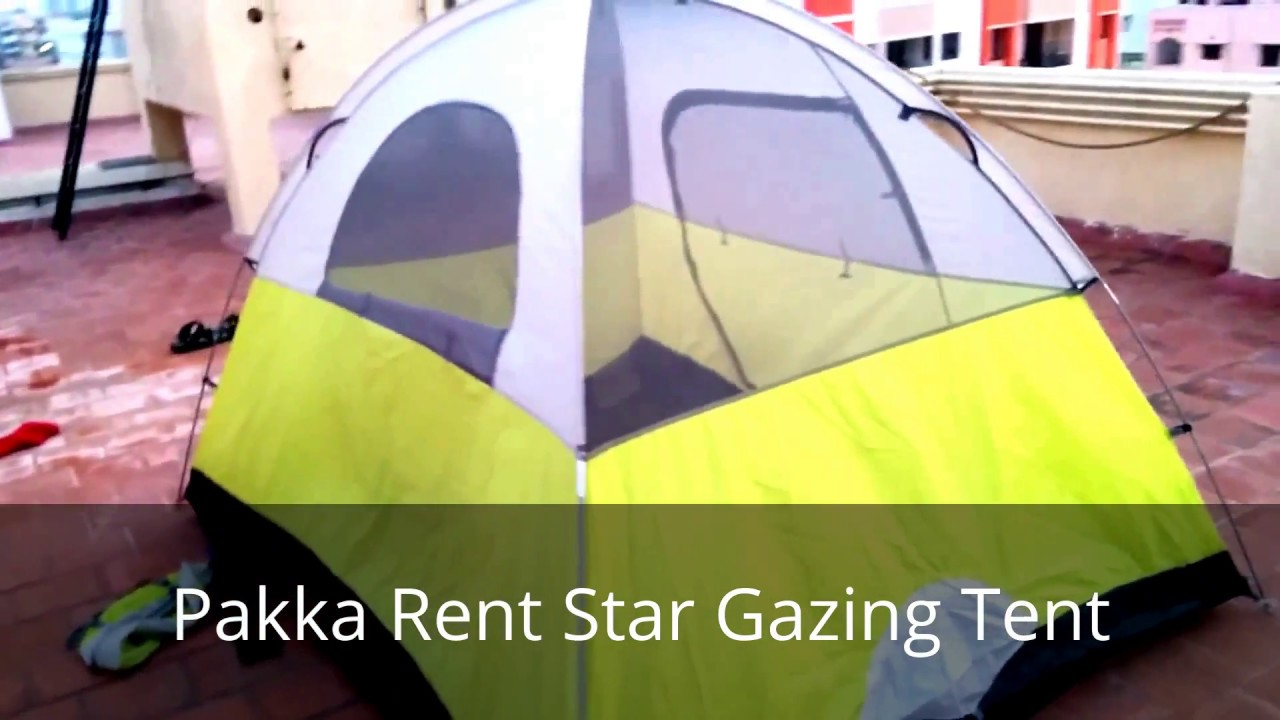 star gazing tent & star gazing tent - YouTube