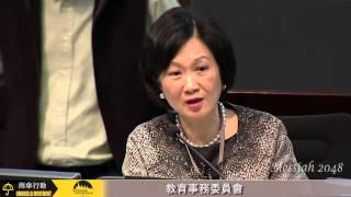 葉劉淑儀:有口音的英語、難以向上流動。