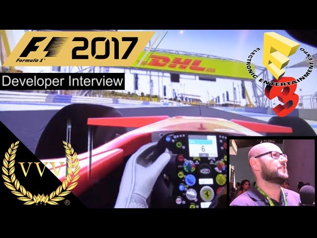 F1 2017 Developer Interview E3 2017