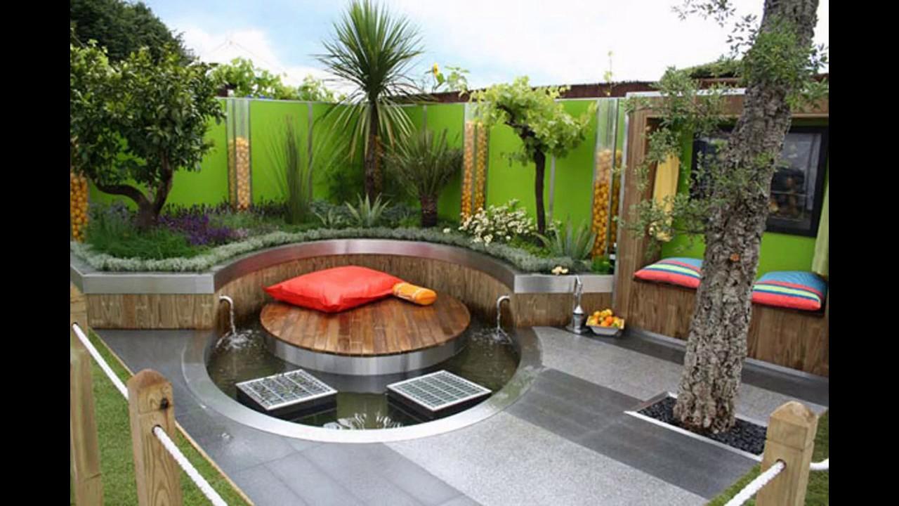 Dise os de patio para patios peque os youtube for Diseno de patio exterior pequeno