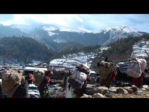 walk for trade || himalayan life || village life || Nepal ||