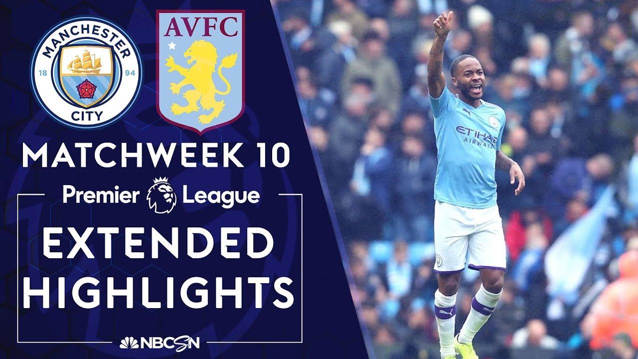 Manchester City v. Aston Villa | PREMIER LEAGUE HIGHLIGHTS | 10/26/19 | NBC Sports