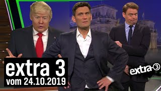 Extra 3 vom 24.10.2019