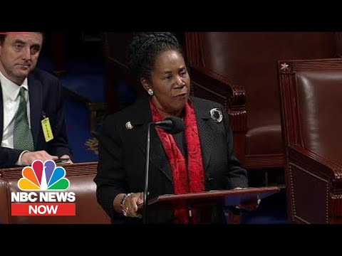 Representative Sheila Jackson Lee On Trump's Racist Remarks: 'This Is Not America' | NBC News Now