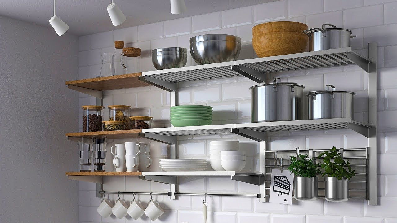 Kitchen Crockery Wall Rack Designs For Modern Small Kitchen Storage Ideas Youtube