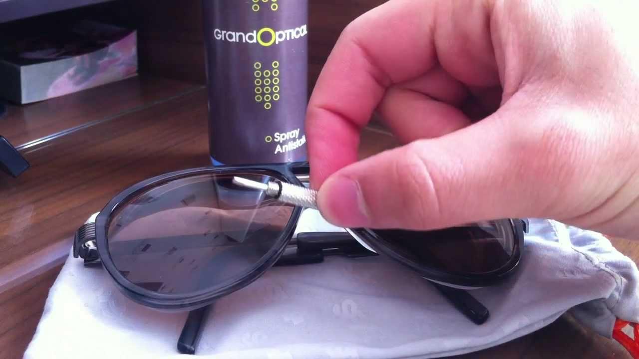 Nettoyer et ajuster vos lunettes de soleil - YouTube 6c6d972a4b38