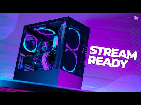 Building Our New RGB Gaming PC In The NZXT H510 Elite - Streaming Setup Pt. 1