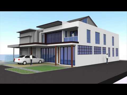 design balkoni rumah teres - balkon gestalten