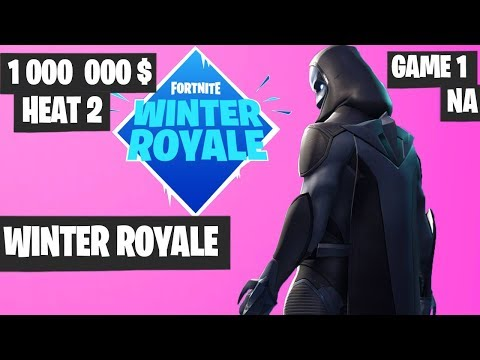 Fortnite Winter Royale Semifinal Heat 2 Game 1 NA Highlights [Fortnite Tournament 2018]