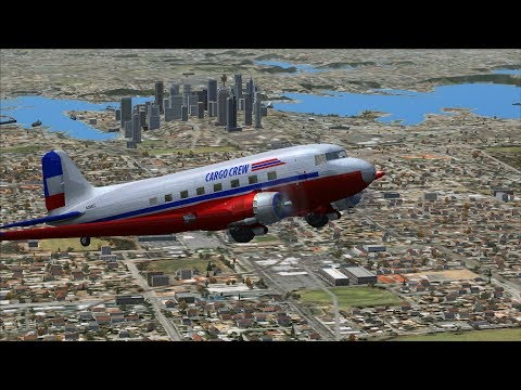 FSX/Flight Simulator X Cargo Crew Mission Pack: 14 Sydney to Canberra