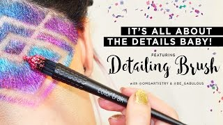 It's all about the details baby!! Colortrak presentes: The Detailing Brush