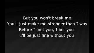 Repeat youtube video Eminem - Stronger Than I Was (lyrics)