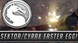 Mortal Kombat X: Sektor & Cyrax Easter Egg! - Secret MK3 Reference! (Mortal Kombat 10)