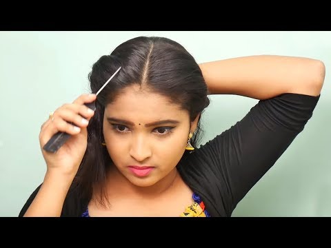 Simple Hairstyle for girls | Quick easy Hairstyle for Party/wedding | Self Hairstyles