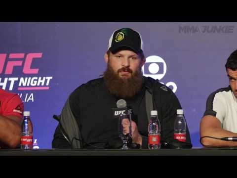 Roy Nelson explains why he got so upset at referee at UFC Fight Night 95