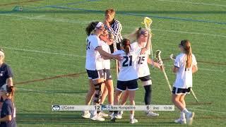 Women's Lacrosse vs UCONN Highlights 02/28/18