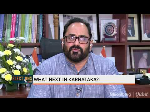 Congress-JDS Government Has No Business In Karnataka: Rajeev Chandrasekhar