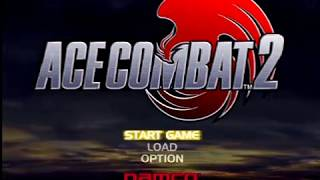 Ace Combat 2 (PS1) 01 Superfly: Into the Air, Jr. Birdman [Hard Difficulty]