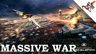 Ashes of the Singularity: Escalation - 13 AIs MASSIVE WARS