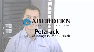 Petarack™ - 1 Petabyte of Raw Data Storage, Expandable to 4.3 Petabytes