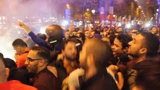 Champs Elysées le 11-11-2017 aux couleurs du Maroc - Part 2
