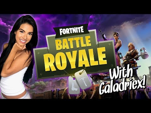 GALADRIEX LIVE: FIRST TIME EVER FORTNITE WITH GALA & JARS!!!