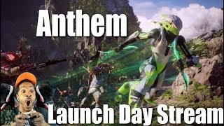 Anthem Launch Day Stream With Sponsors | Xbox One X