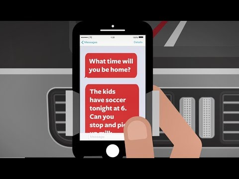 Stop Distracted Driving: Texting