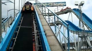 on ride log flume m's wild river Dundee carnival