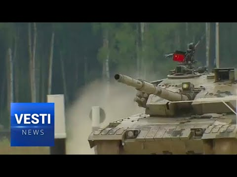 A NATO Representative Was Seen at The Russian Army Games 2017