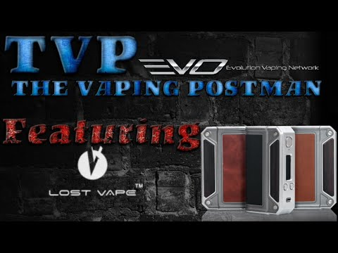 Lostvape therion DNA75 & quick escribe tour
