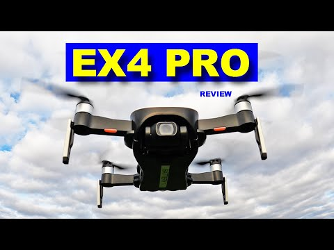 The new Eachine EX4 PRO with 3 Axis Camera Gimbal & Long Flight Range.