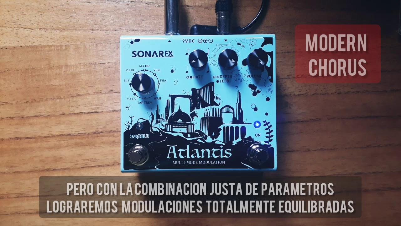 SonAr fx - Atlantis Multimode Modulation - Modern Chorus