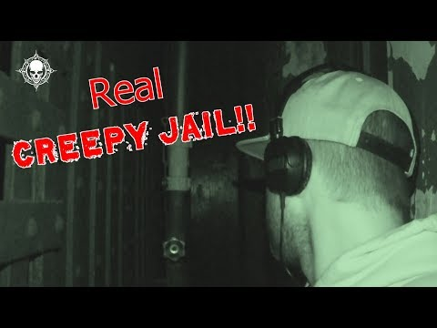 Creepy Paranormal Activity at Haunted Jail? Dead Explorer