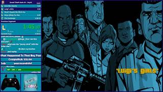 GTA III and Vice City Any% Speedrun Attempts - Hugo_One Twitch Stream - 10/3/2017