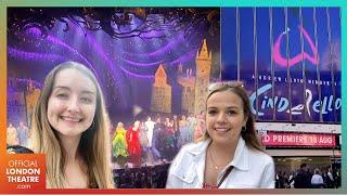 Andrew Lloyd Webber's Cinderella Opening Night   World premiere VLOG!