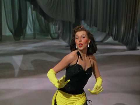 Ann Miller singing and dancing in Easter Parade 1948