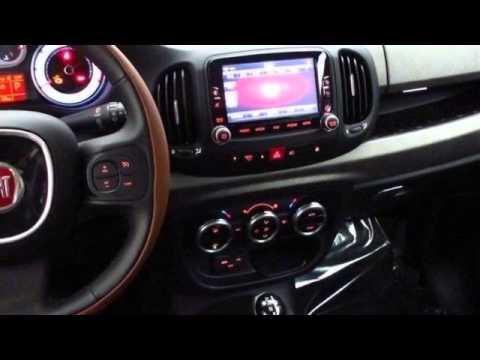 2014 FIAT 500L TREKKING BLACK  YouTube