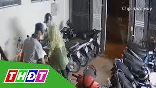 Nhóm trộm đột nhập chung cư lấy 5 xe máy   THDT