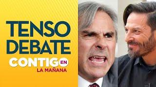 La pregunta de Rafael Cavada que indignó a Iván Moreira - Contigo en La Mañana