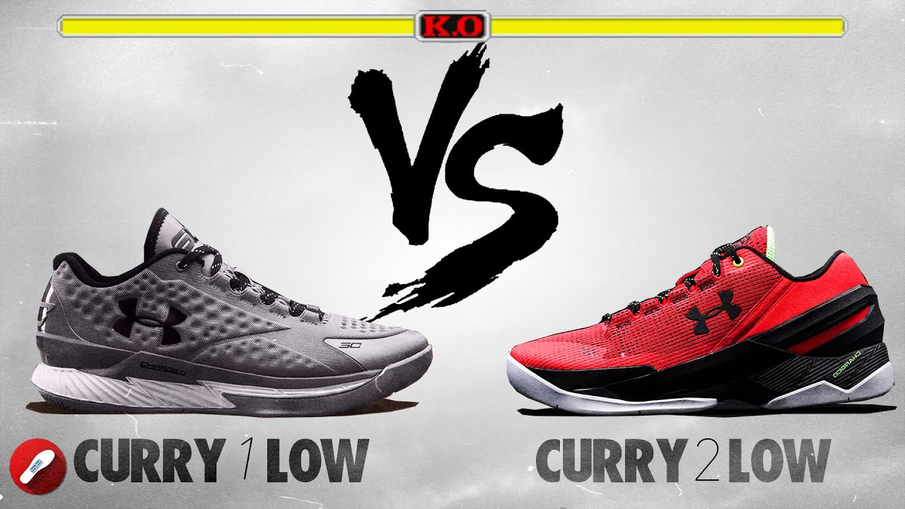 de738d8291ba Under Armour Curry 1 Low vs Curry 2 Low! Review - YouTube