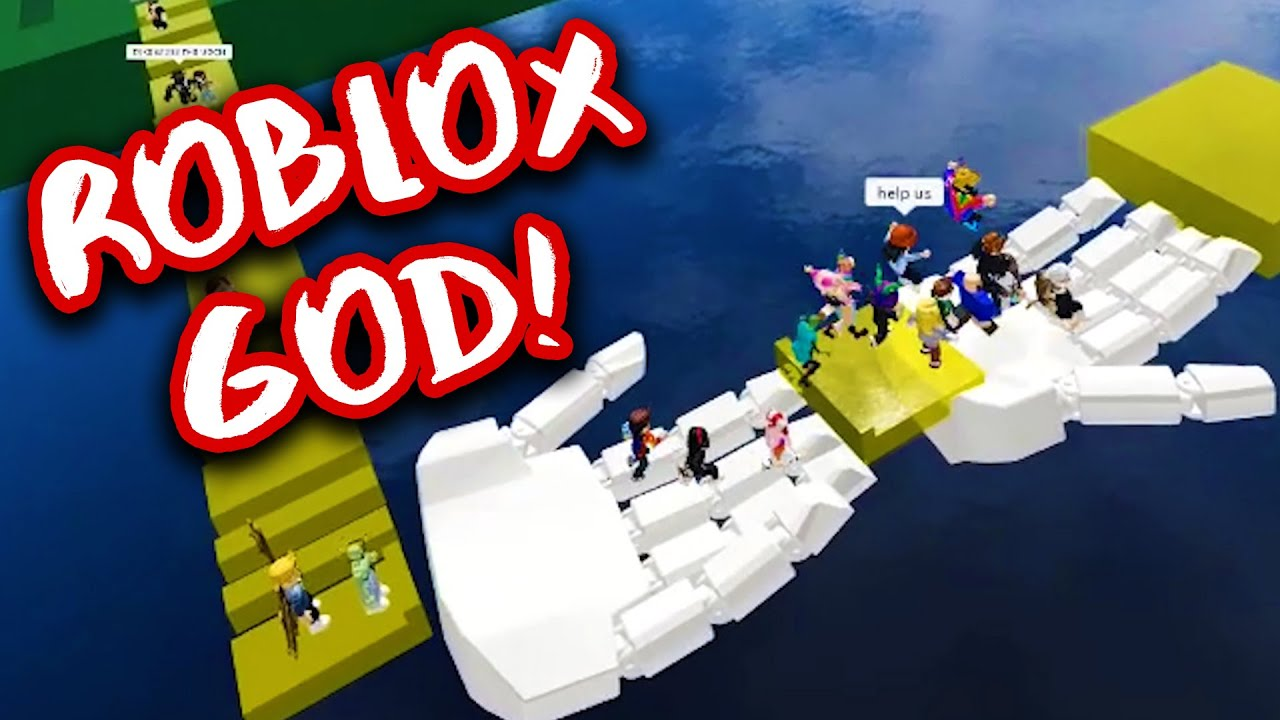 I Am A Vr God Roblox Vr Youtube