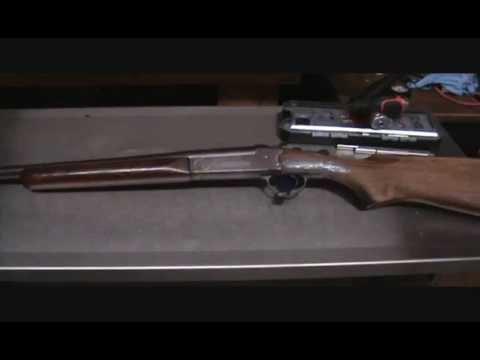 Stevens single shot shotgun disassembly Pt 1