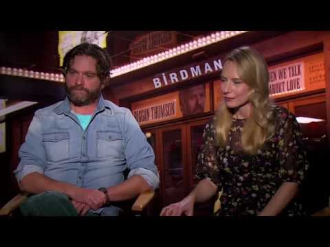 Zach Galifianakis and Amy Ryan have never seen a film like 'Birdman' before