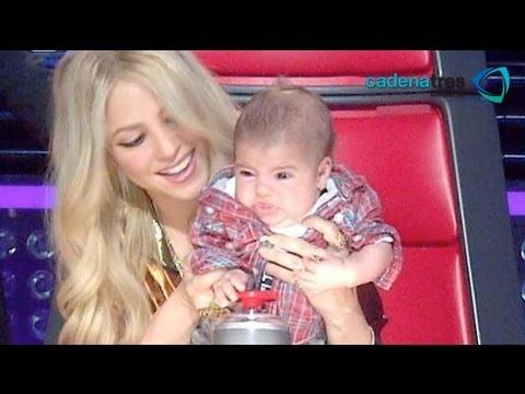 Shakira ha cambiado su vida con la llegada de Milan / Shakira has changed her life with for Milan