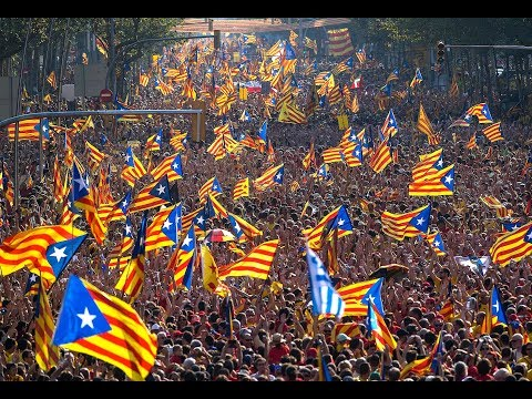 Catalonia Declares Independence - Catalan Republic - Catalans Ecstatic