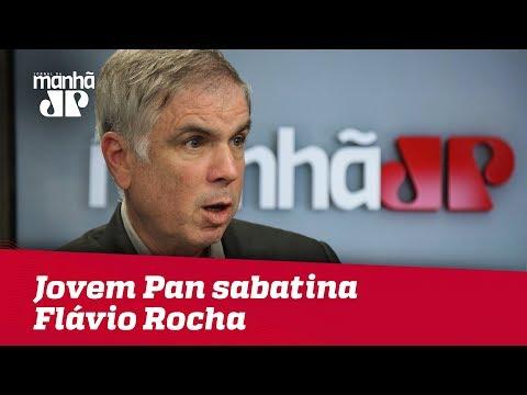 Eleições 2018 - Jovem Pan sabatina Flávio Rocha