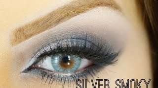 Silver Smoky eyes Makeup By Ani Thumbnail