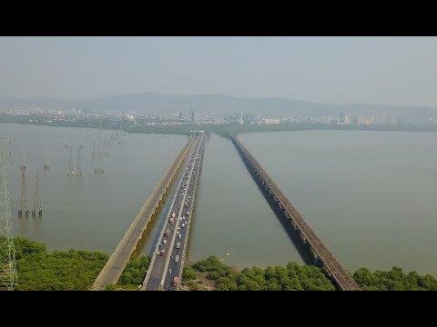 Vashi Kharghar Panvel Navi Mumbai Aerial View