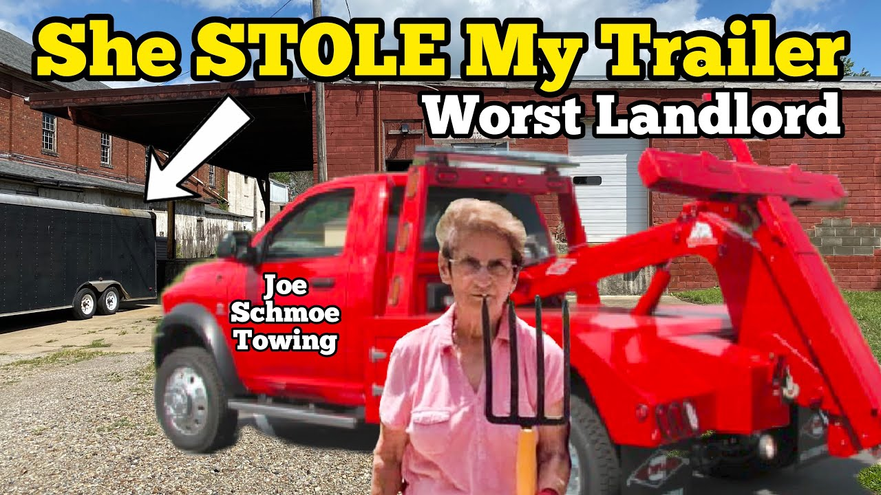 SHE STOLE MY TRAILER ... Cops Called On Landlord / Landlord vs Tenant